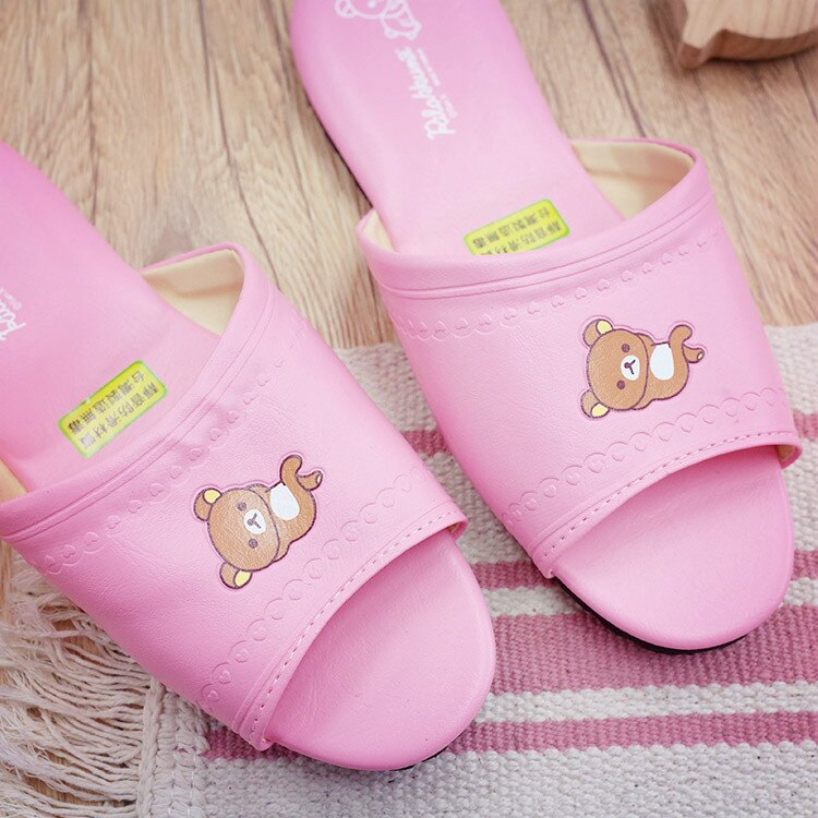 PGS7 拉拉熊系列商品 - 拉拉熊 Rilakkuma 懶懶熊 成人 室內拖鞋 室內拖 拖鞋【SFV7034】