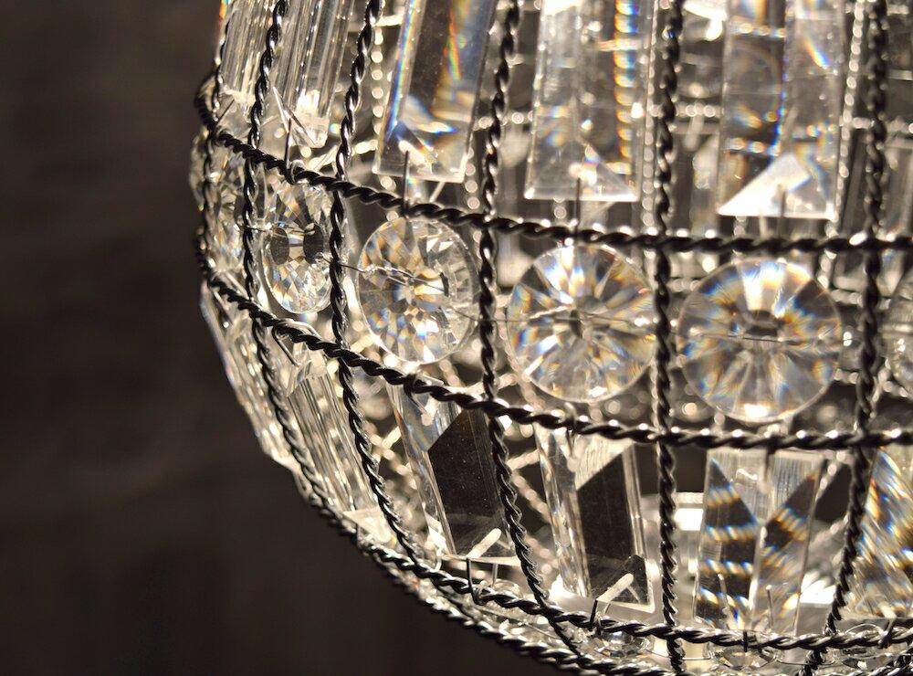 鍍鉻水晶圓形吊燈-BNL00104 7