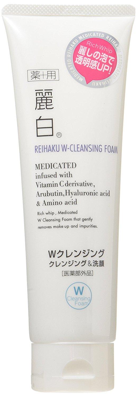 日本熊野麗白晶透美肌卸妝洗面乳(190g)