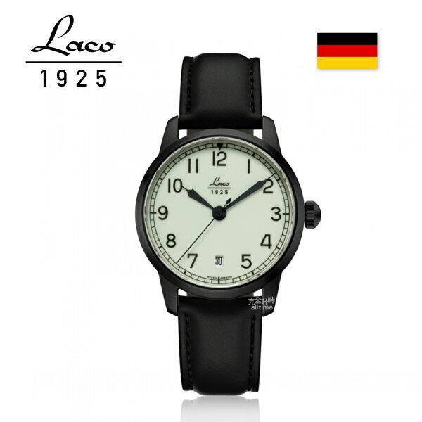 【完全計時】手錶館│Laco朗坤德國工藝夜光海洋自動上鍊機械錶女錶36mm(861804)