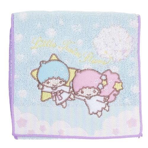 日本Sanrio三麗鷗毛巾小物袋毛巾布折袋《雙子星天使》★收納私密小物暖暖包保冷袋多用途喔★夢想家Zakka'fe