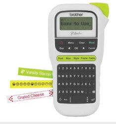 【歐菲斯辦公設備】 Brother  手持式標籤機 單機使用 多種字體圖案  PT-H110