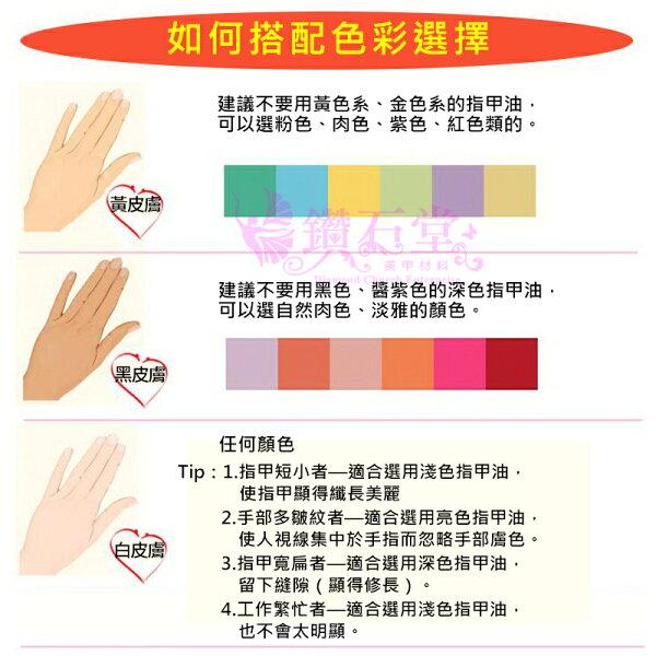 黑皮膚黃皮膚白皮膚如何搭配色彩選擇Z-4