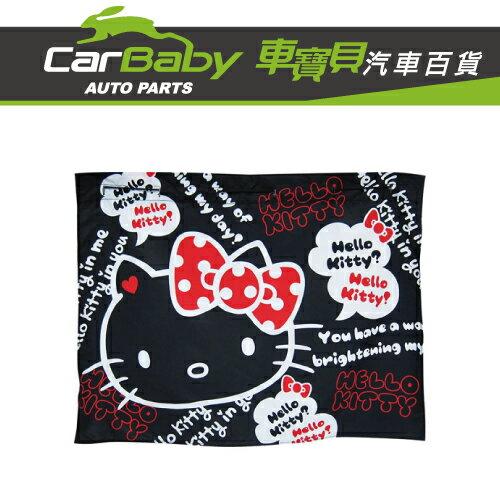 【車寶貝推薦】HELLOKITTY汽車遮陽簾-黑(2入)PKTD007B-14