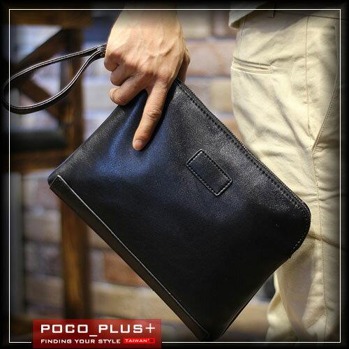 PocoPlus 韓版手拿包 信封包 文件包 公事包 正韓直達 手機包 潮包 側背包 單肩包 【B368】