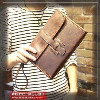 《全店399免運》PocoPlus 信封包 手拿包 文件包 潮流款包 手提包【B494】