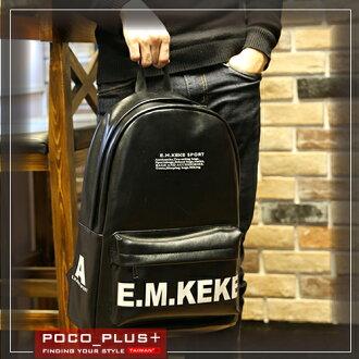 PocoPlus 新款韓版潮流 雙肩背包 男士時尚【B546】