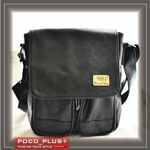 《全店399免運》PocoPlus 新款韓風 男士單肩背 斜背包 休閒旅遊包 潮男最愛【B564】