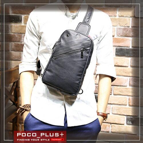 PocoPlus  男包 潮男胸前包 休閒包 超 ~B622~