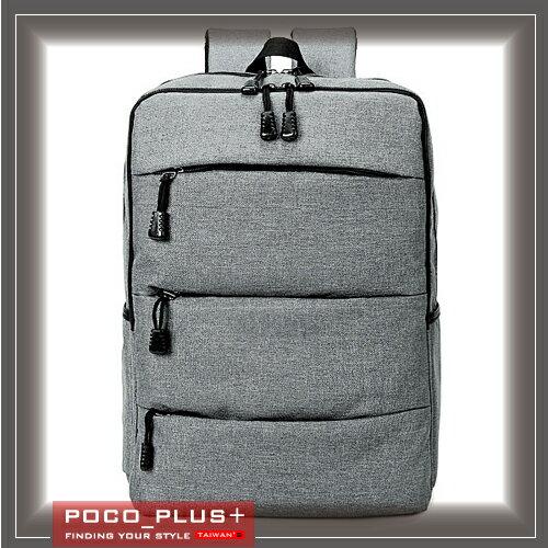 PocoPlus 男女雙肩包背 休閒旅遊包 電腦包 包~B648~