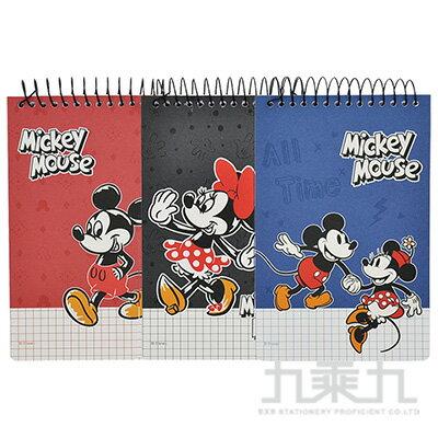 迪士尼50K單線圈上翻方格厚版筆記本 LW-A2155