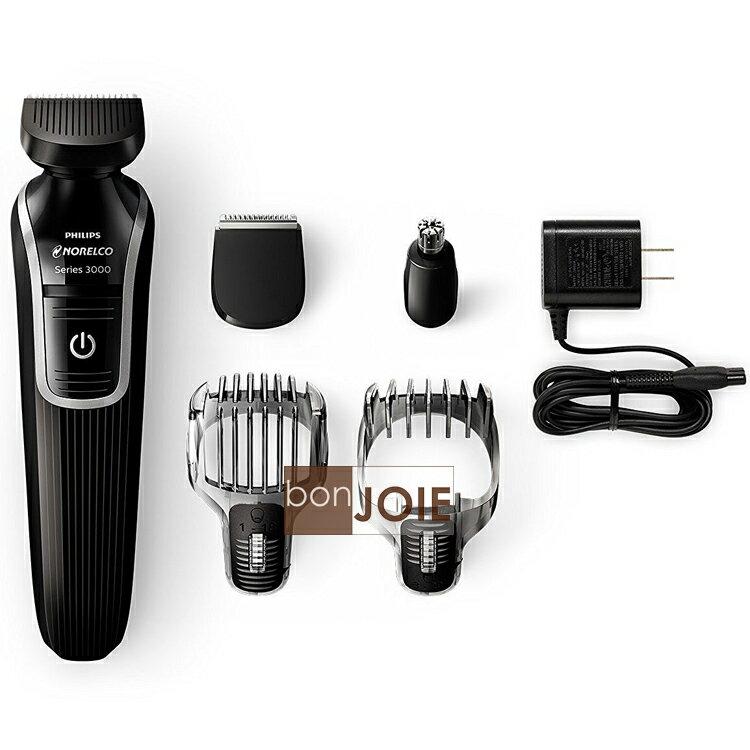 ::bonJOIE:: 美國進口 飛利浦 Philips Norelco Series 3100 QG3330 五合一電動剪髮器 (全新盒裝) 理髮器 Multigroom 毛髮修剪器