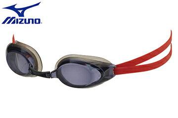 85YA-29962(紅) 穿戴舒服的矽膠頭帶近視泳鏡【美津濃MIZUNO】