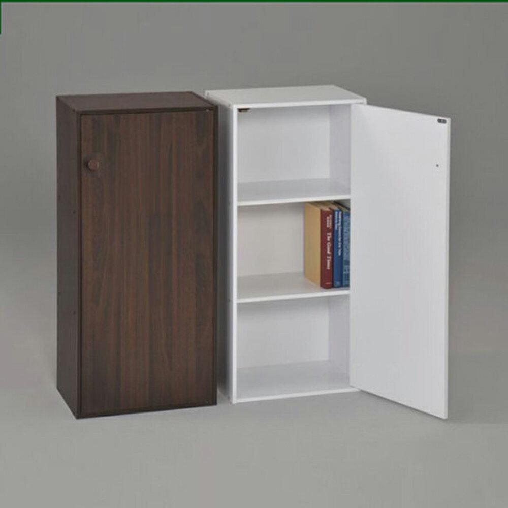 生活大發現-DIY-日式三格一門書櫃/組合櫃/收納櫃/置物櫃/高低櫃/展示櫃