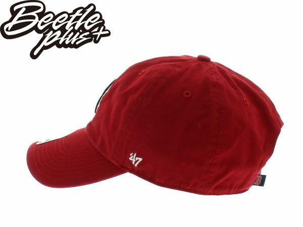 BEETLE 47 BRAND 老帽 DAD HAT 波士頓 紅襪 BOSTON RED SOX 大聯盟 MLB 紅黑 MN-363 1