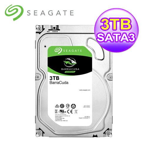 Seagate 桌上型 3TB 3.5吋SATAⅢ硬碟(ST3000DM008)【三井3C】