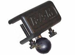【尋寶趣】平面邊緣固定夾 RAM車架汽車/重機/機車/自行車支架 固定架 RAM-B-127B