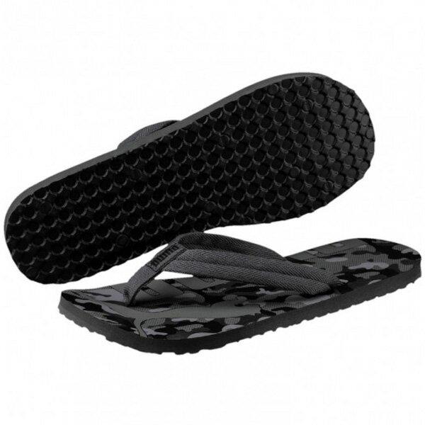 PUMA EPIC FLIP V2 CAMO 男鞋 女鞋 拖鞋 休閒 夾腳 黑灰 迷彩 【運動世界】 36533202