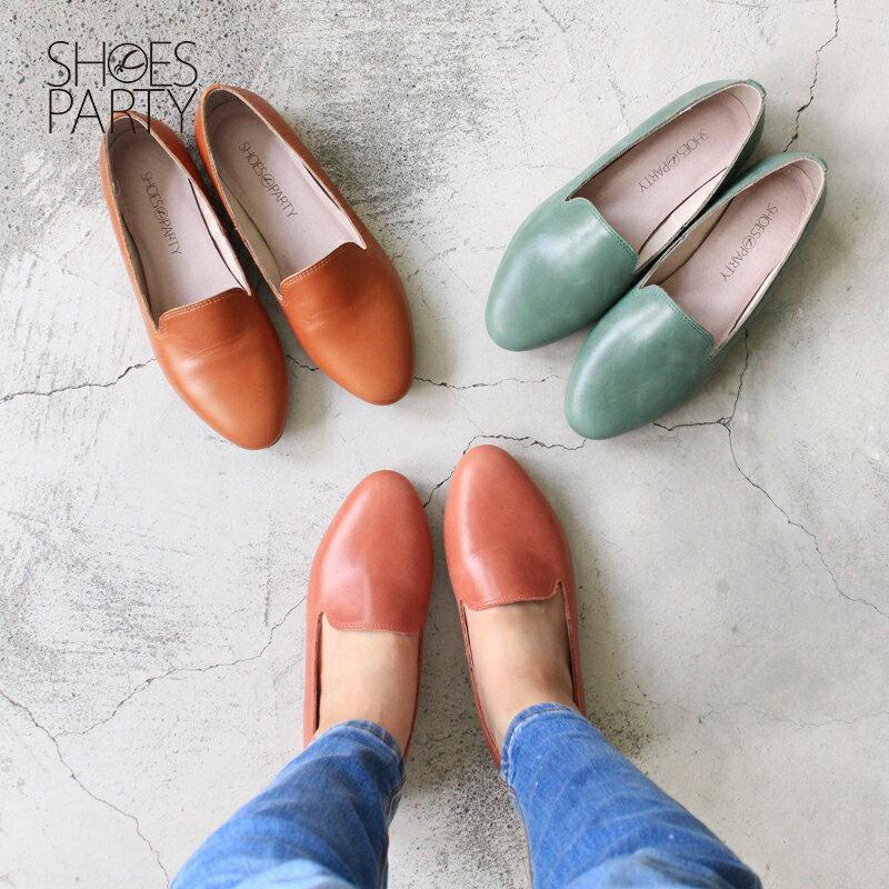【 C2-17816L 】拋光牛皮歐貝拉_Shoes Party 0