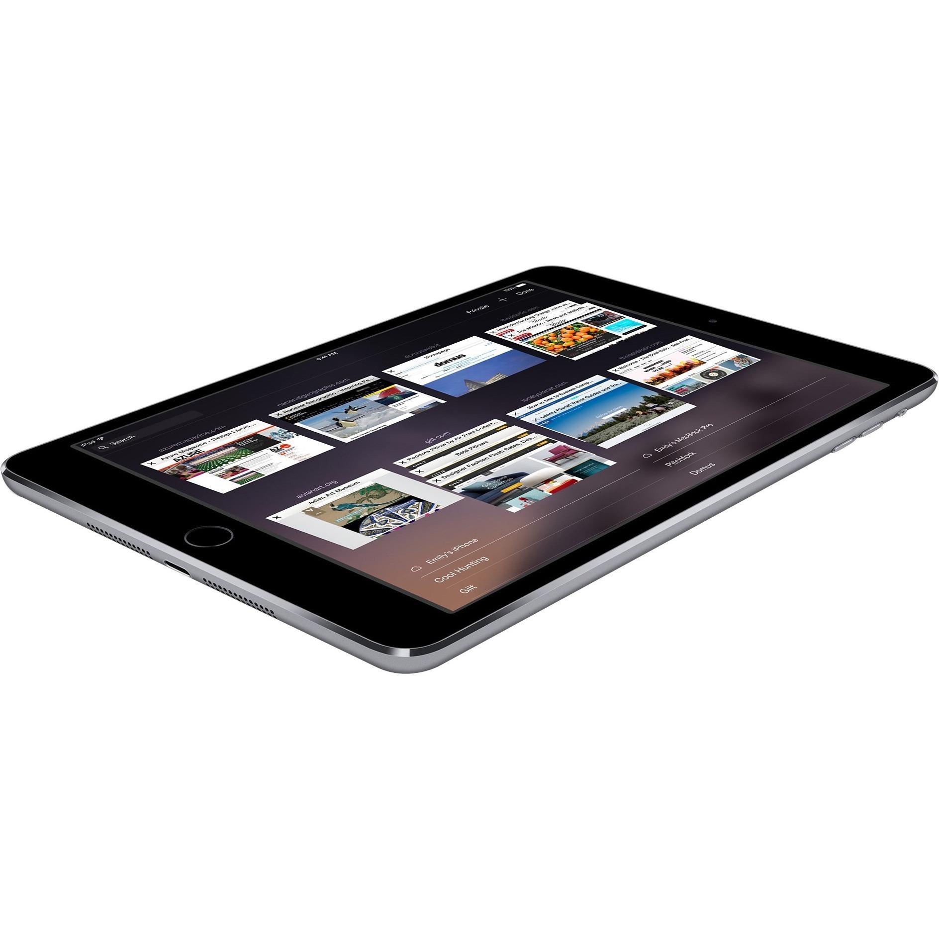 """Apple iPad Air 2 16GB 9.7"""" Retina Display Wi-Fi Tablet - Gray - MGL12LL/A 0"""