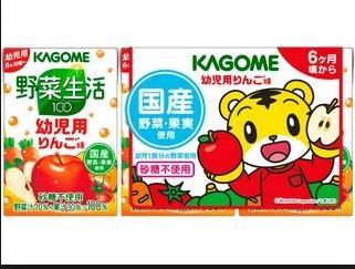 日本可果美巧虎蘋果汁(100ml * 3 入)