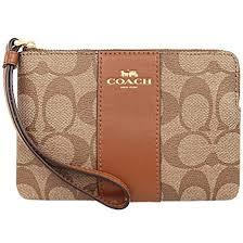 【COACH】防刮LOGO拼皮革手拿包(2色) F52860.F58035【全店免運】 ARIBOBO 艾莉波波