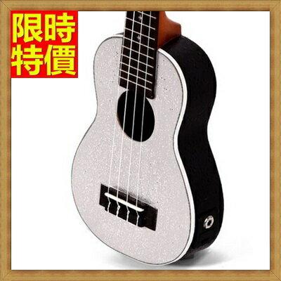 ★烏克麗麗ukulele-閃鑽夏威夷吉他21吋雲杉木合板四弦琴弦樂器3色69x35【獨家進口】【米蘭精品】