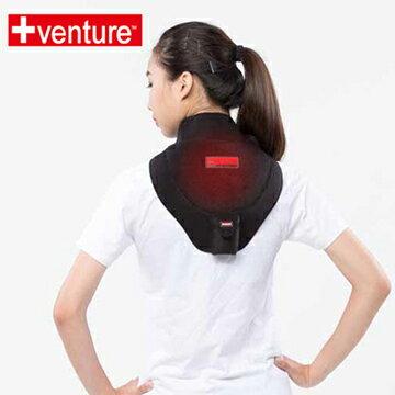 【+venture】鋰電頸部熱敷墊SH-65,加贈鋰電池x1