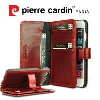 [ iPhone6/6S Plus ] Pierre Cardin法國皮爾卡登5.5吋多層卡袋真皮手機套/保護套/皮套 可收納悠遊卡/信用卡/提款卡/記憶卡-MEEKEE SHOP-3C特惠商品