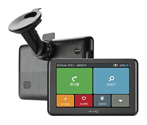 Mio NaviNext S60 GPS衛星導航/動態測速預警/聲控導航/多點旅程計畫/可選配胎壓偵測/另售GARMIN