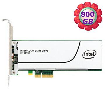 Intel SSD 800GB 750【SSDPEDMW800G4X1】PCIe 3.0 x4, 20nm, MLC 固態硬碟