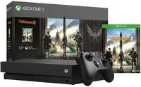 Xbox One X 1TB Tom Clancy's The Division Bundle