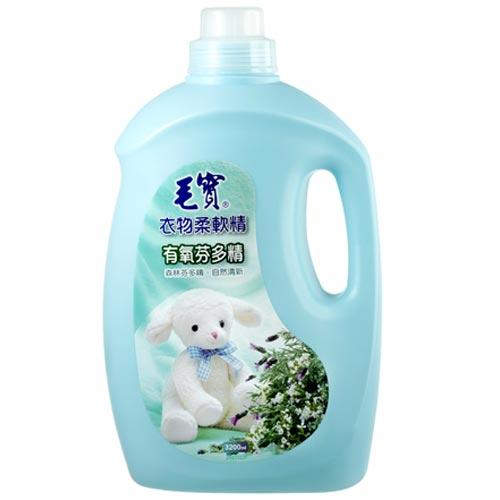 毛寶 衣物柔軟精 有氧芬多精 3200g
