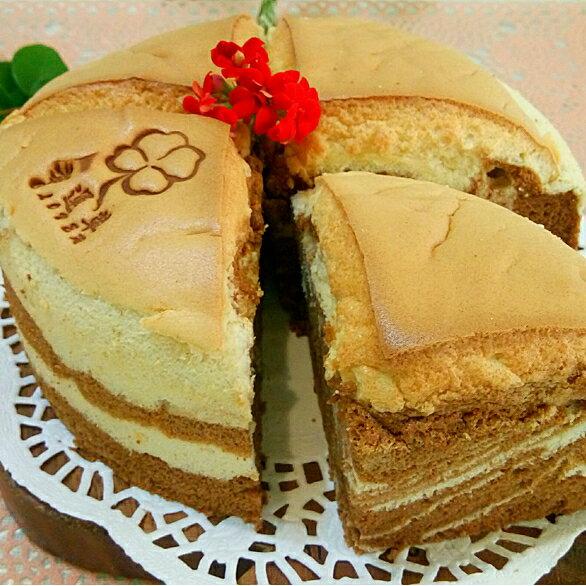 紅茶牛奶戚風蛋糕︱戚風蛋糕︱錫蘭紅茶粉︱6吋︱8吋