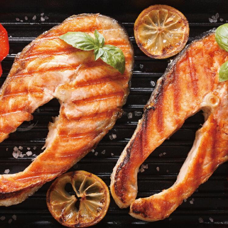 【優惠組】鮮切鮭魚片20片組(100公克/1片)