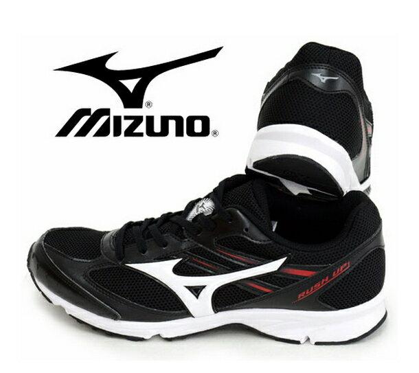 [陽光樂活] MIZUNO 美津濃 男女款 RUSH UP 春夏新款路跑鞋 入門款 3E寬楦  J1GA158401 26cm