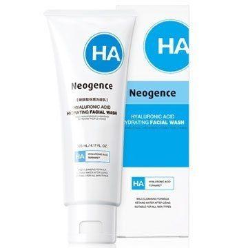 Neogence 霓淨思玻尿酸保濕洗面乳125ml全新封膜/效期2020【淨妍美肌】