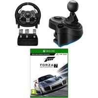 Rakuten.com deals on Logitech G920 Xbox Driving Force Wheel + Shifter & Forza Motorsport 7