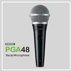 【非凡樂器】SHURE PGA48/動圈式麥克風/演講、演出均適用/附線/公司貨保固
