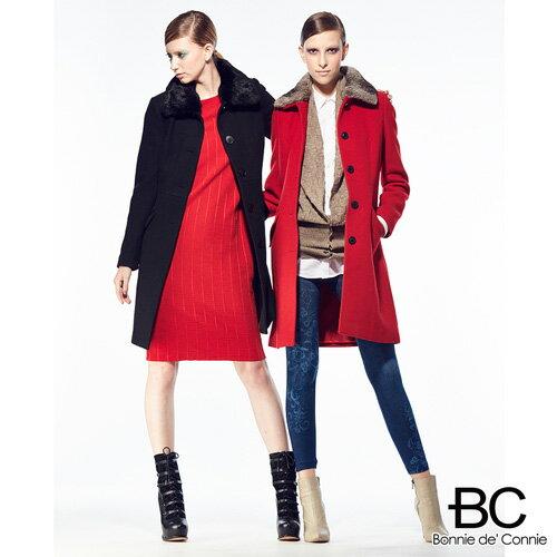 【嚴購網】法國BC羊毛大衣急凍限量補貨檔(兩色任選)