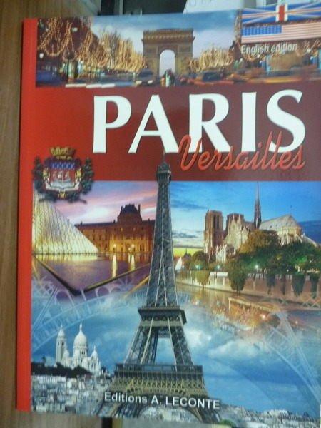 【書寶二手書T8/旅遊_QFH】PARIS:Versailles_A.Leconte