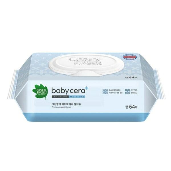 綠手指寶貝照護加厚型濕紙巾64抽單包【六甲媽咪】