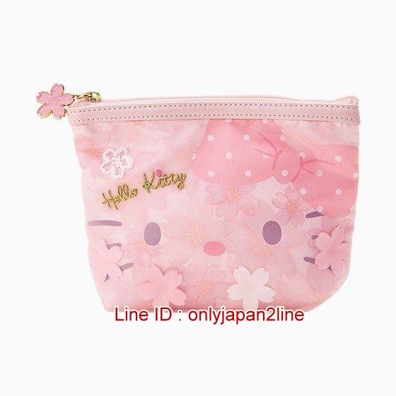 【真愛日本】4901610279168 面紙化妝包-KT 三麗鷗 Hello Kitty 凱蒂貓 化妝包 萬用 收納包