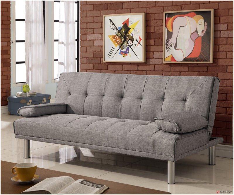 布沙發床 三人位沙發床 限時特價 三色可選 《心之綠洲》卡其 藍色 灰色 綠色 非 ikea 宜家  !新生活家具! 樂天雙12 3