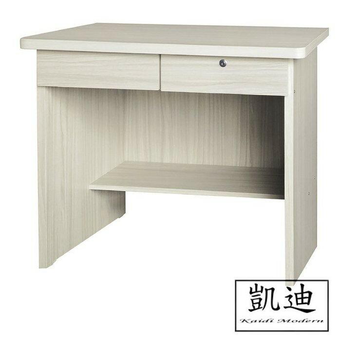 【凱迪家具】F32-463-125 白雪杉3尺書桌 /大雙北市區滿五千元免運費