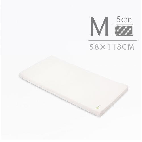 mammyshop媽咪小站:mammyshop媽咪小站-有機棉系列.嬰兒護脊床墊.5cm(M)58×118cm