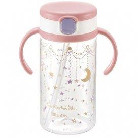 【淘氣寶寶】《日本 Richell 利其爾》第三代LC戶外吸管水杯320ml【星辰】
