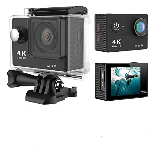 Compatible with The Mugast 1080P HD Action Camera Navitech 60-in-1 Action Camera Accessories Combo Kit with EVA Case