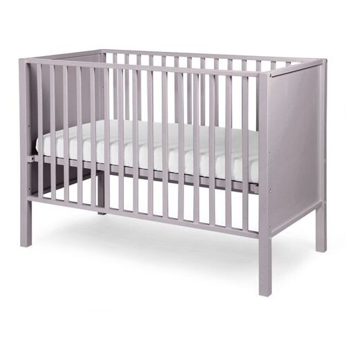 ★衛立兒生活館★比利時Childhome BE22SG嬰兒床/時尚灰 +天然椰子床墊贈100%純棉床包