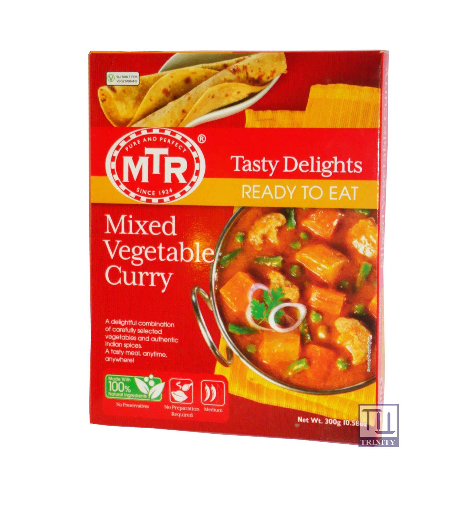 Mtr Mixed Vegetable Curry 印度綜合蔬菜咖哩即食調理包